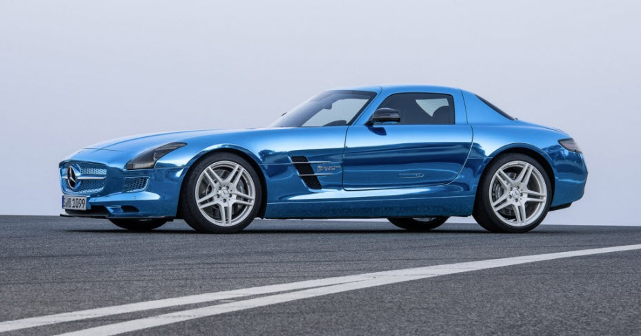 2014 Mercedes Benz HOT All Electric SLS AMG Coupe 3