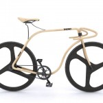 Elegant Bicycle Crafted from Bent Beech Wood