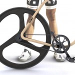 Elegant Bicycle Crafted from Bent Beech Wood_5