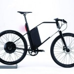 Futuristic Coren Urban Bike Made from High Tensile-Strength Carbon Fibers