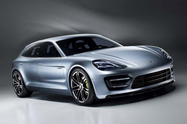 Porsche Unveils Plug-in Hybrid Concept Panamera Sport Turismo