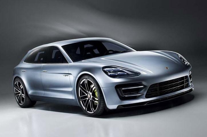 Porsche Unveils Plug in Hybrid Concept Panamera Sport Turismo