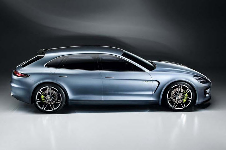Porsche Unveils Plug in Hybrid Concept Panamera Sport Turismo 2