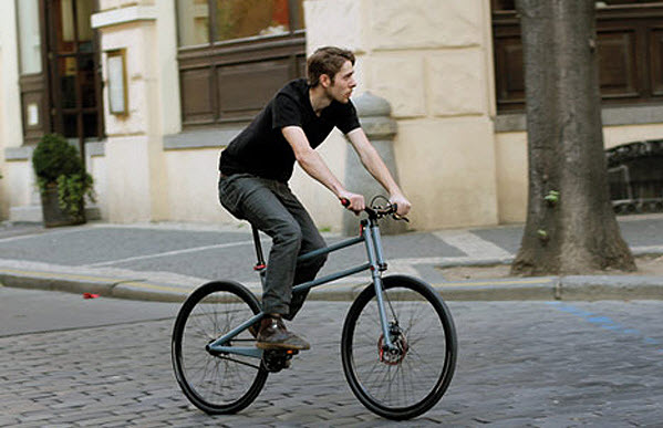 Simple Folding Bike With Full Size Wheels by Mikulas Novotny 2