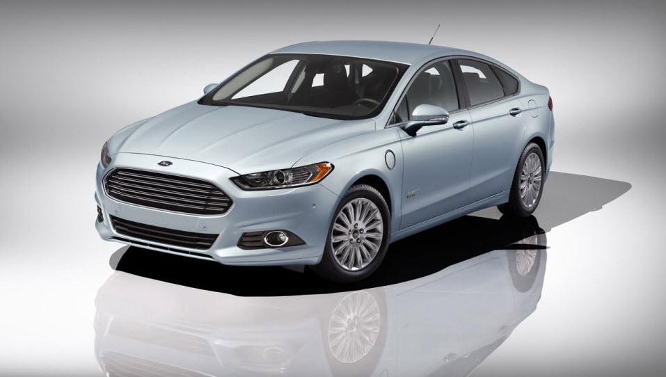 2013 Ford Fusion Energi Plug In Hybrid Sedan