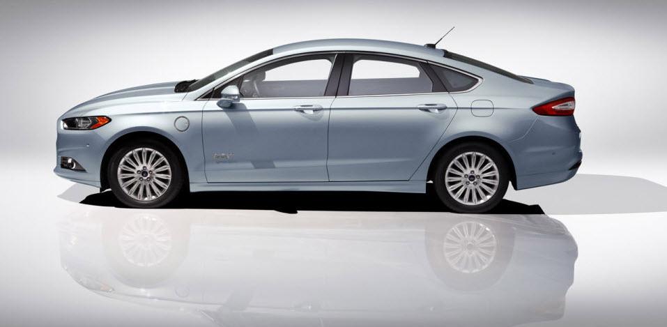 2013 Ford Fusion Energi Plug In Hybrid Sedan 2