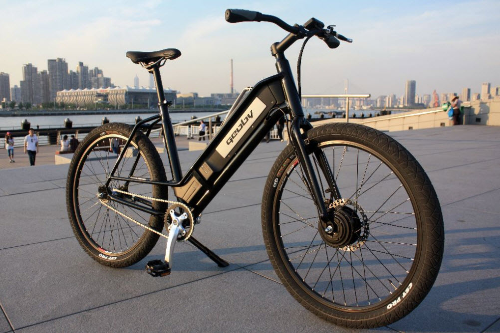 Backbone Electrical Bicycle by Julien Misrachi 1