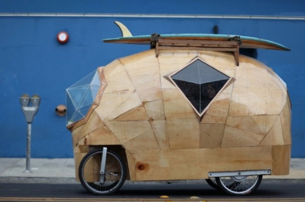 The Golden Gate: Electric Camper Bicycle Car