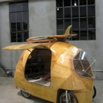 The Golden Gate, Electric Camper Bicycle Car_1