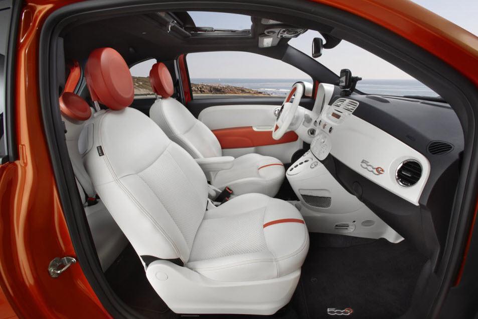 2013 Fiat 500e Interior 1