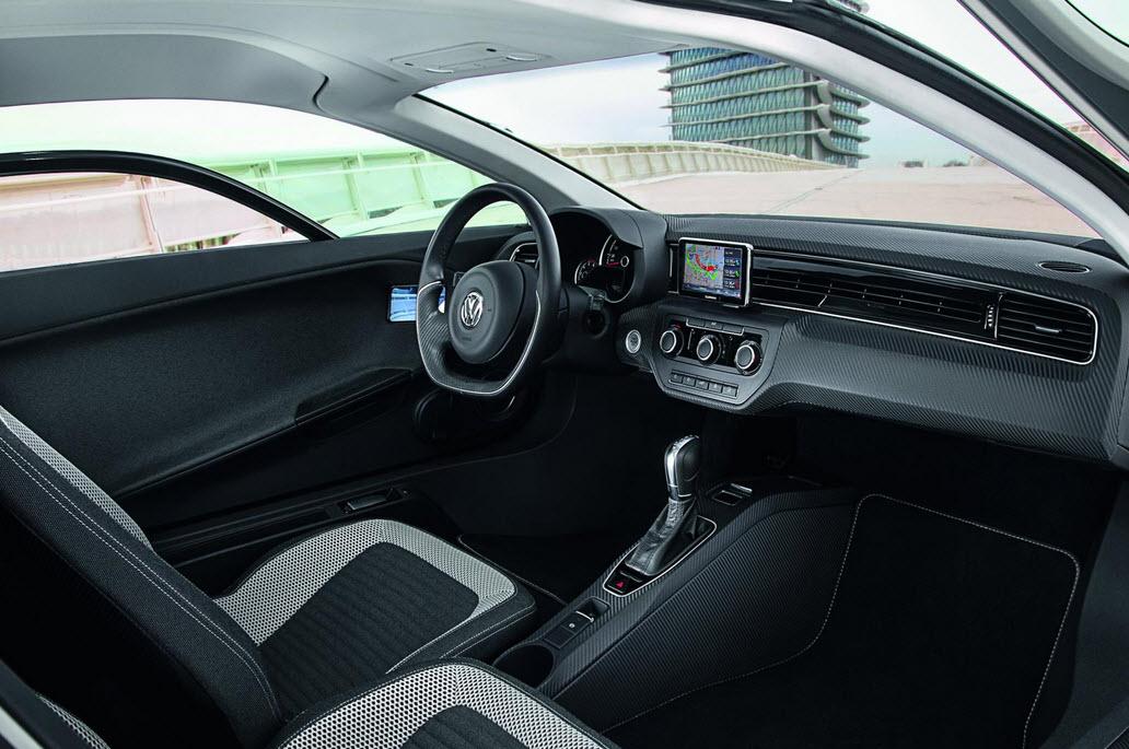 Gogreen with the Volkswagen XL1 Interior