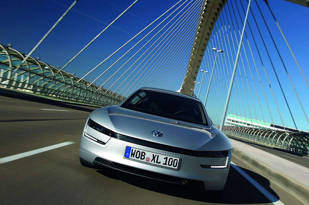 Gogreen with the Volkswagen XL1 1