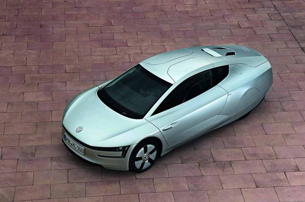 Gogreen with the Volkswagen XL1 12