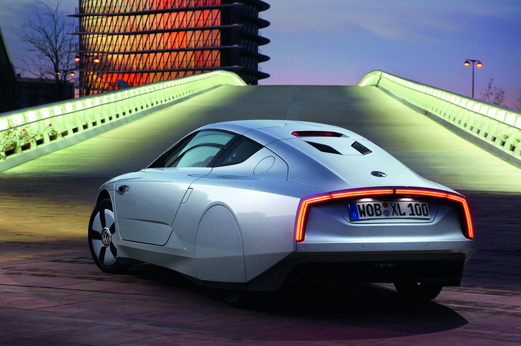 Gogreen with the Volkswagen XL1 16