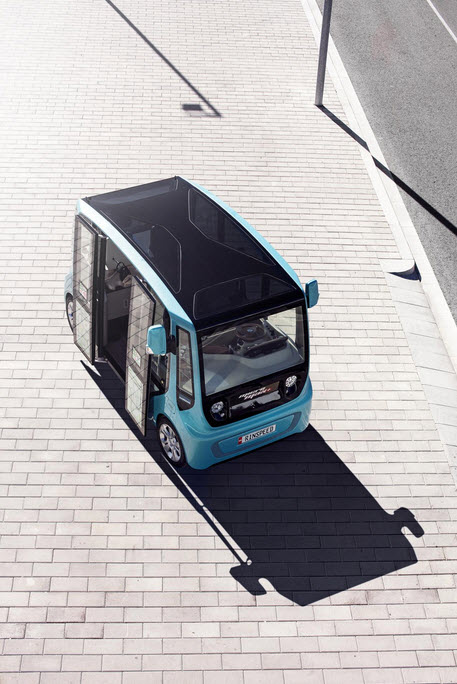 Rinspeed microMAX Tiny Electric Bus 6