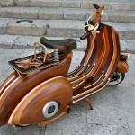 Wooden Vespa, more Classic, more Classy_1