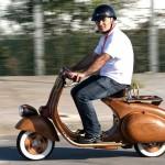Wooden Vespa, more Classic, more Classy_7