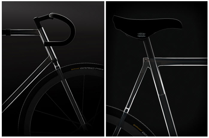 The Clarity Bike with Transparent Frame 2