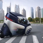 Toyota i-Road Personal Mobility Vehicle_4