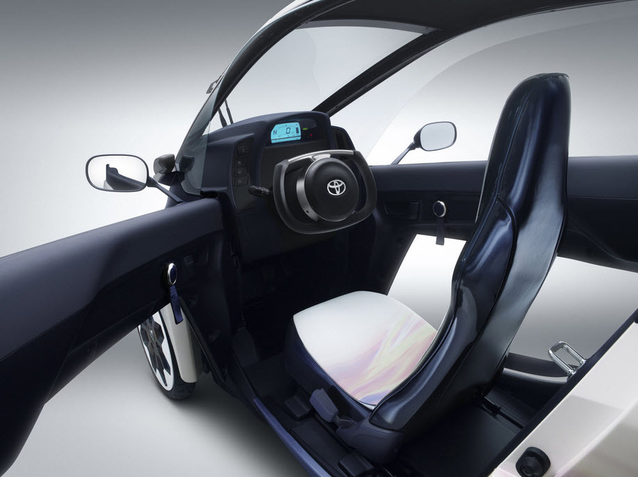 Toyota i Road Personal Mobility Vehicle 5