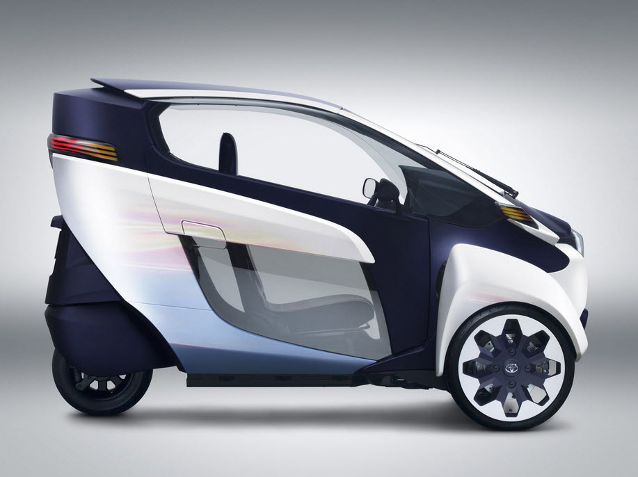 Toyota i Road Personal Mobility Vehicle 7