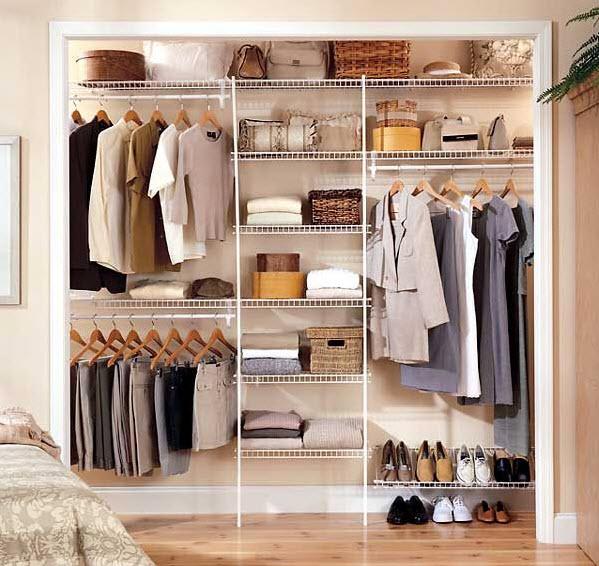Closet Shelving Ideas to Get Your Home More Organized 4