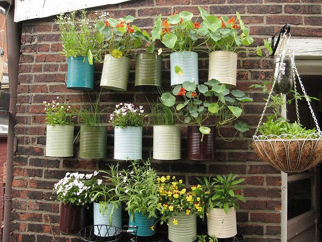 Captivating ... Green Your Wall With Vertical Garden Planters