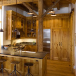 Natural Warm Kitchen with Pine Cabinetry_5