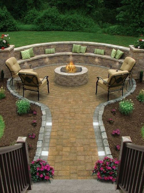 paver patio, driveway, and walkway designs | gogogreen