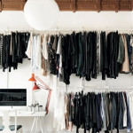 Scandinavian Modern Walk in Closet