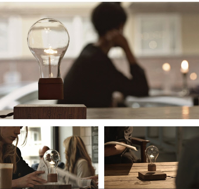 The FLYTE Levitating LED Light Bulb