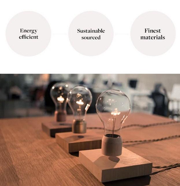 The FLYTE Levitating LED Light Bulb 2