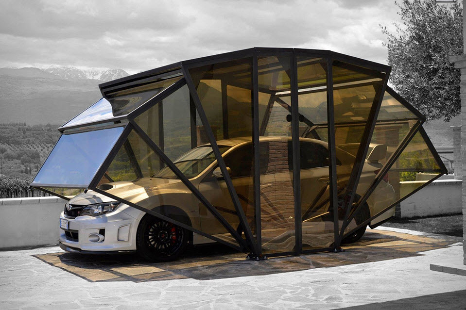 GazeBox Foldable Cover The New Concept of Garage