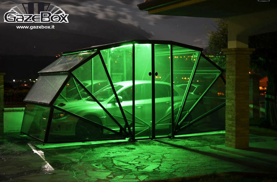 GazeBox Foldable Cover The New Concept of Garage 3