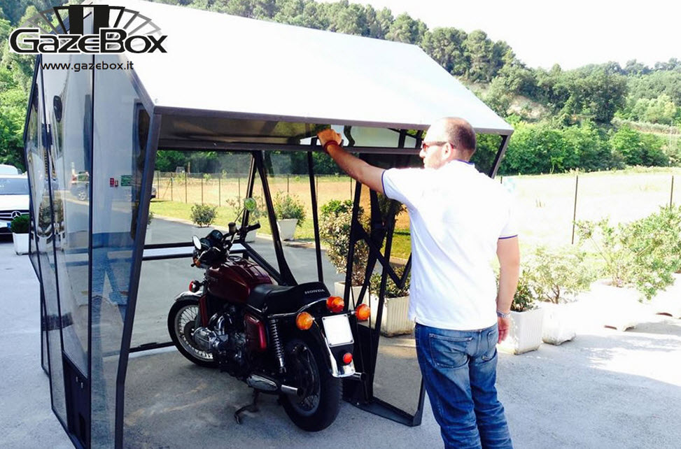 GazeBox Foldable Cover The New Concept of Garage 5