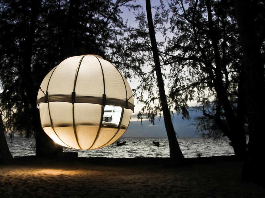 Sleep In The Trees With Cocoon Tree