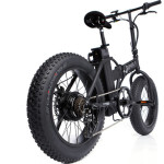 The Fat Bad Coolest Electric Folding Bike_1