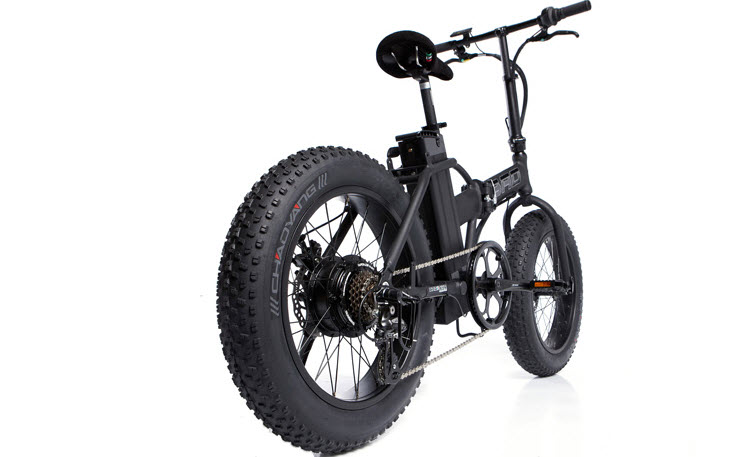 The Fat Bad Coolest Electric Folding Bike 1
