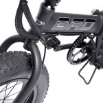 The Fat Bad Coolest Electric Folding Bike_2