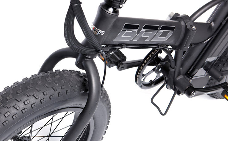 The Fat Bad Coolest Electric Folding Bike 2