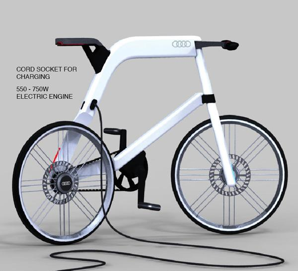 Audi Electric Bike For The Future Urban Consumer Audi