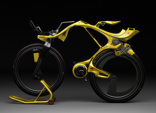 Extrem Alien Hybrid Bike: The INgSOC