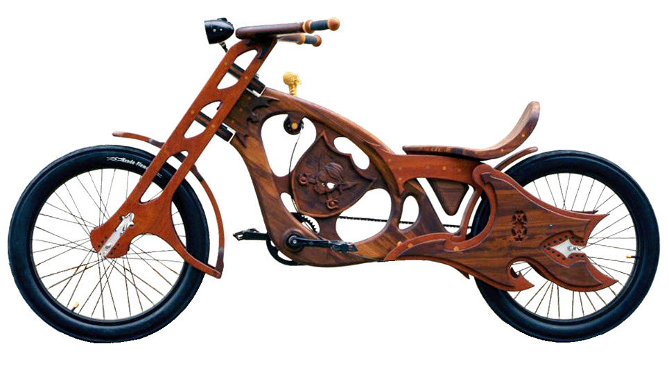 Wooden Bicycles By Masterworks Wood Amp Design Gogogreen